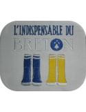 Motif de broderie machine bottes bretonnes