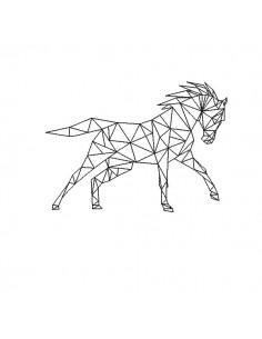 Motif de broderie machine cheval origami