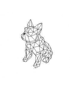 Motif de broderie machine bouledoque origami