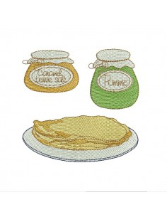 Instant download machine embroidery cider