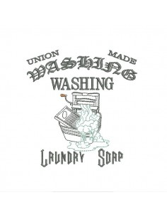 Instant download machine embroidery design laundry