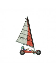 Instant download machine embroidery yachting