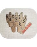 Motif de broderie machine  jeu  de quilles en bois