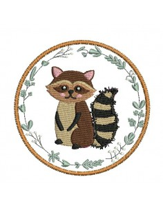 Instant download machine embroidery hedgehog
