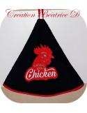 Motif de broderie machine poulet