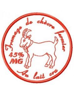 Camembert Chèvre 10x10cm