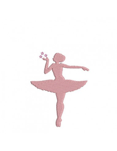 embroidery design silhouette dancer. Black Bedroom Furniture Sets. Home Design Ideas