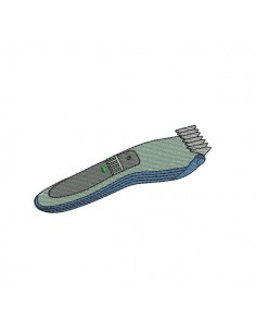 Instant download machine embroidery Shaver