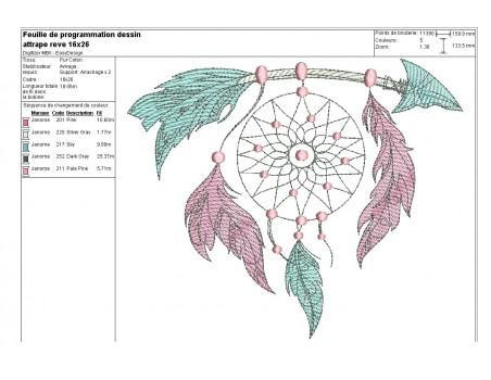 Embroidery design dreams