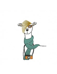 Instant download machine embroidery  Boxer dog