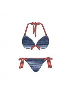 Instant download machine embroidery design Lingerie underwear