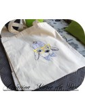 Instant download machine embroidery  yorkshire dog