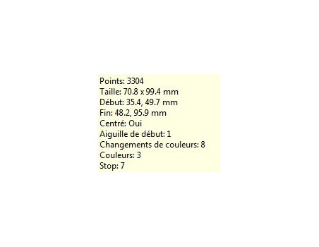 Tricotin 10x10 cm