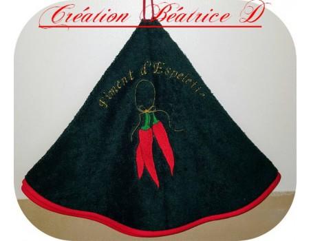Instant download machine embroidery Ravioli pasta