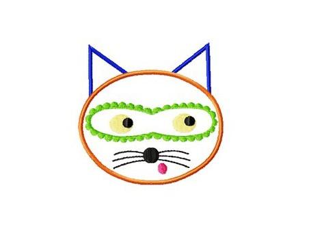 Le chat masqué