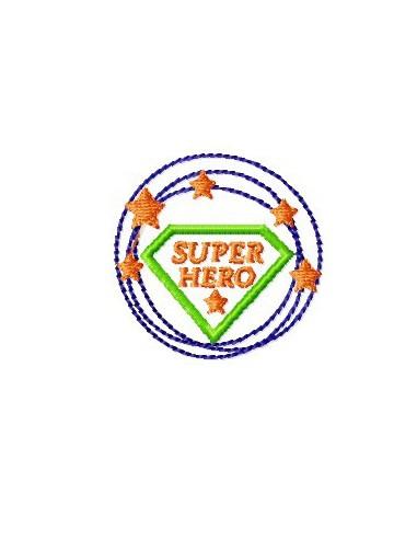 Logo super héro