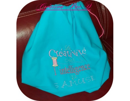 Embroidery design Little happiness