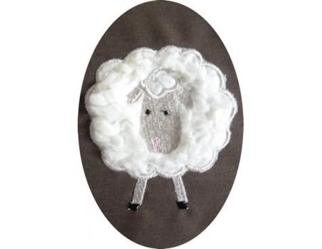 Mouton de face