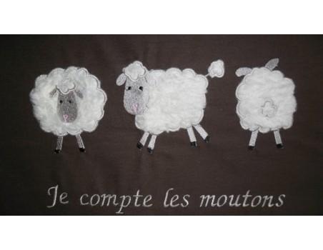 Mouton de profil