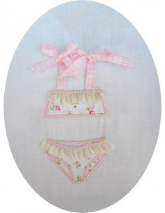 embroidery design machine Bathing Suit Swimsuit children girl