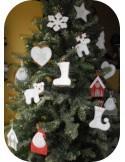 Motif de broderie machine maison de Noël ITH