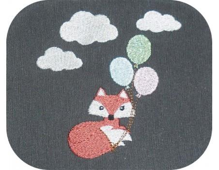 Embroidery design koala