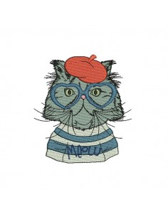 Instant download machine embroidery buccaneer  cat