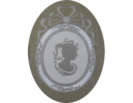 Cadre XVIII siècle 13x18 cm