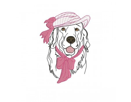 Instant download machine embroidery cat with hat mylar