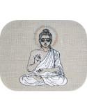 embroidery design buddha lotus flower