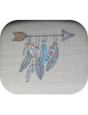 Embroidery design dream Catcher