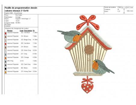 embroidery design christmas heart frame