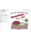 Instant download machine embroidery  sausage