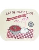 Motif de broderie machine riz de camargue