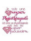 Embroidery design super doctor