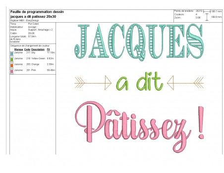 Embroidery design it's back to school