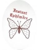 motif de broderie papillon
