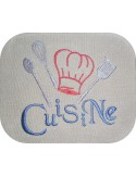 Instant download machine embroidery  kitchen