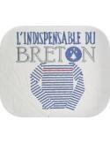 Motif de broderie machine la marinière du breton