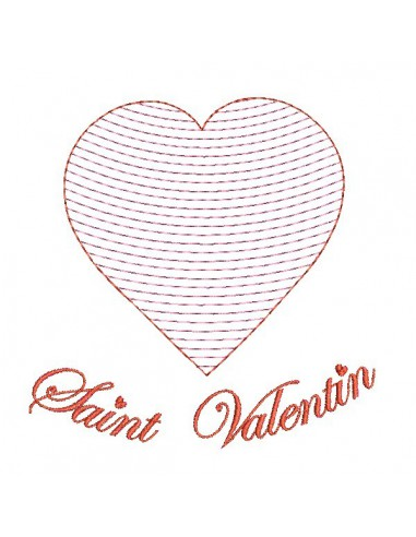 Instant download machine embroidery  heart quilting