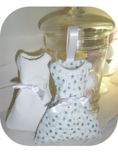 embroidery design dress ITH