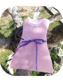 Motif de broderie machine robe à ruban ITH