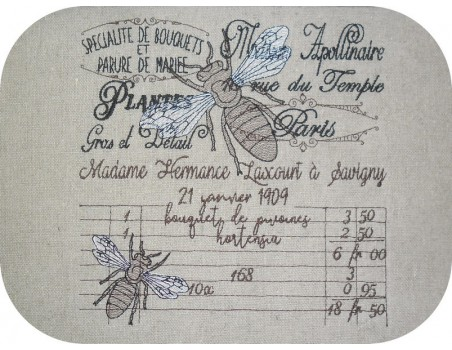 Instant download machine embroidery dragonfly