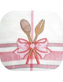 Instant download machine embroidery whip and spatula