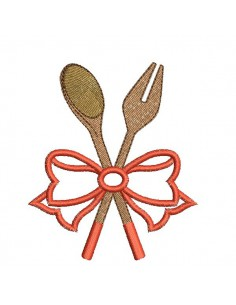 Instant download machine embroidery  applique spatula