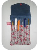 Instant download machine embroidery pencil case ith