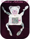 Instant download machine embroidery bear ith