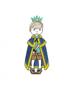 Embroidery design frame  little Prince