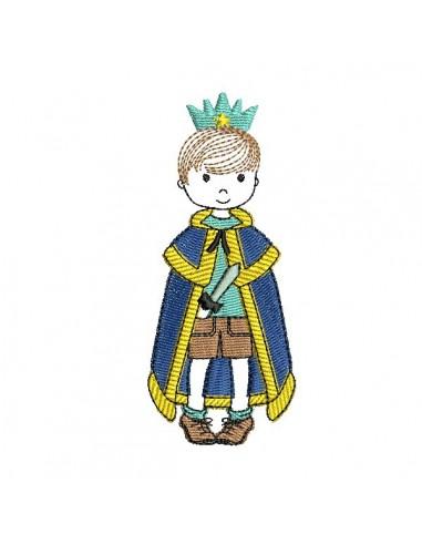Motif de broderie machine petit prince