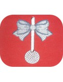 Instant download machine embroidery enamelled ladle